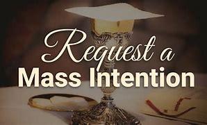 Mass Intention Request