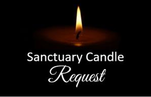 Sanctuary Candle Request